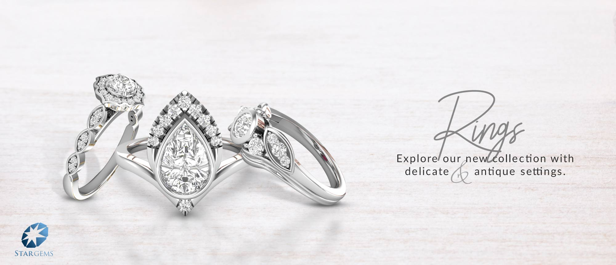 Shop New Arrivals Rings At Signature Diamonds Galleria